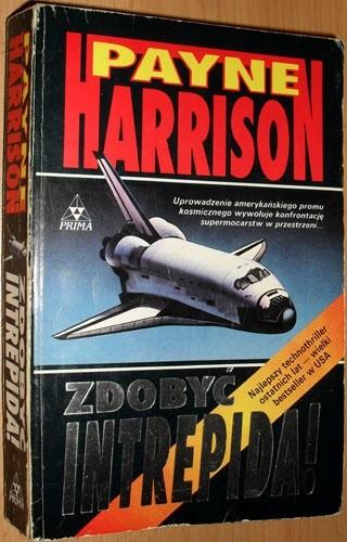Okładka książki Zdobyć Intrepida! Payne Harrison