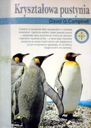 Okładka książki Kryształowa pustynia David G. Campbell