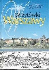 Okładka książki Wizytówki Warszawy Halina Cieszkowska,Krystyna Kreyser