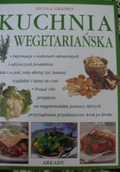 Okładka książki Kuchnia wegetariańska Nicola Graimes