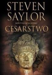 Okładka książki Cesarstwo Steven Saylor