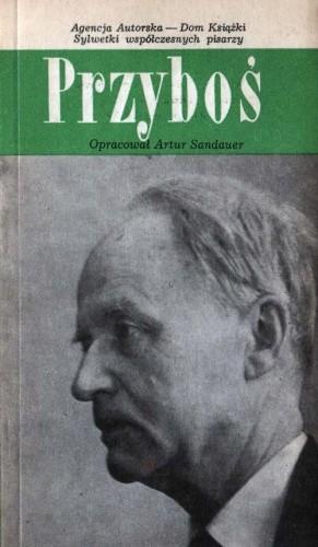 Okładka książki Przyboś Artur Sandauer