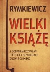Okładka książki Wielki Książę Jarosław Marek Rymkiewicz