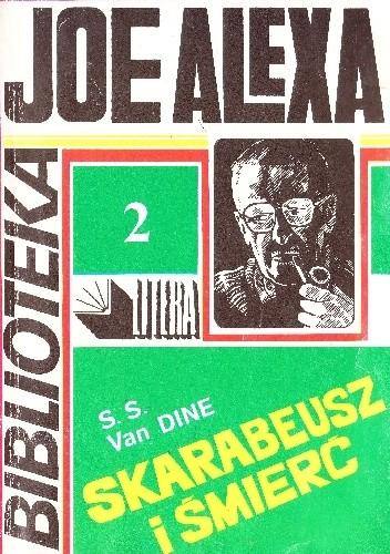Okładka książki Skarabeusz i śmierć S.S. Van Dine