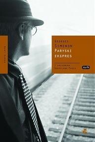 Okładka książki Paryski ekspres Georges Simenon