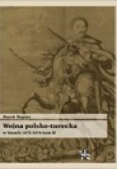 Okładka książki Wojna polsko turecka w latach 1672-1676, t.2 Marek Wagner