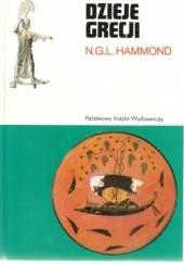 Okładka książki Dzieje Grecji Nicholas Geoffrey Lemprière Hammond