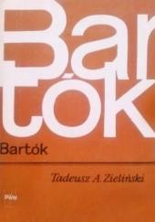 Okładka książki Bartók Tadeusz A. Zieliński