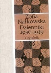 Okładka książki Dzienniki 1930-1939 Zofia Nałkowska