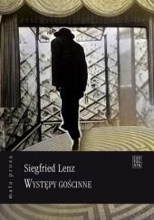 Okładka książki Występy gościnne Siegfried Lenz