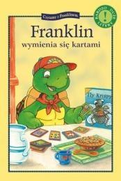 Okładka książki Franklin wymienia się kartami Brenda Clark,Sharon Jennings