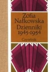 Okładka książki Dzienniki 1945-1954 Zofia Nałkowska