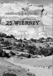 Okładka książki 25 wierszy Samantha Kitsch