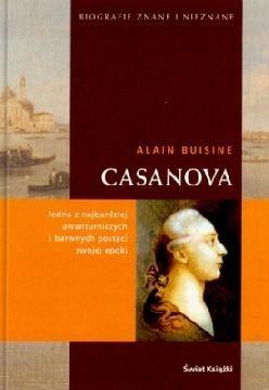 Okładka książki Casanova Alain Buisine
