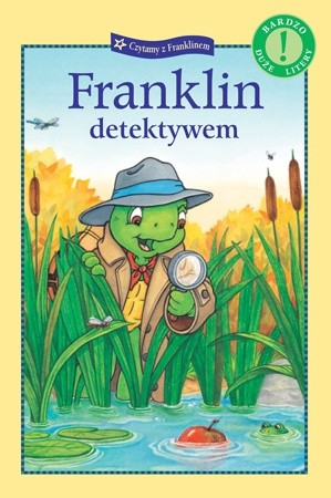 Okładka książki Franklin detektywem Sharon Jennings