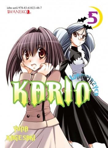 Okładka książki Wampirzyca Karin #5 Yuna Kagesaki