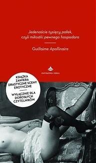 Okładka książki Jedenaście tysięcy pałek, czyli miłostki pewnego hospodara Guillaume Apollinaire