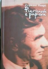 Okładka książki Pierścień z papieru Zygmunt Haupt