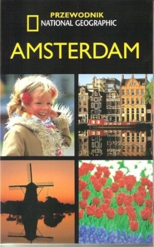 Okładka książki Amsterdam. Przewodnik National Geographic Christopher Catling
