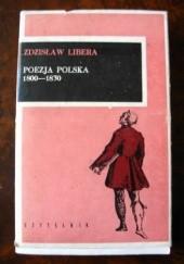 Okładka książki Poezja polska 1800-1830