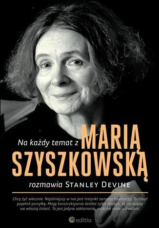 Okładka książki Na każdy temat z Marią Szyszkowską Stanley Devine
