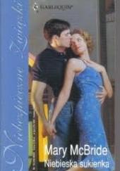 Okładka książki Niebieska sukienka