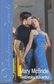 Okładka książki Niebieska sukienka Mary McBride