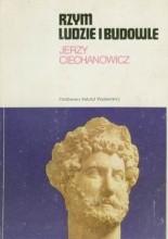 Okładka książki Rzym ludzie i budowle