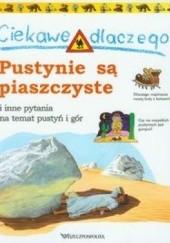 Okładka książki Ciekawe dlaczego pustynie są piaszczyste. Jackie Gaff