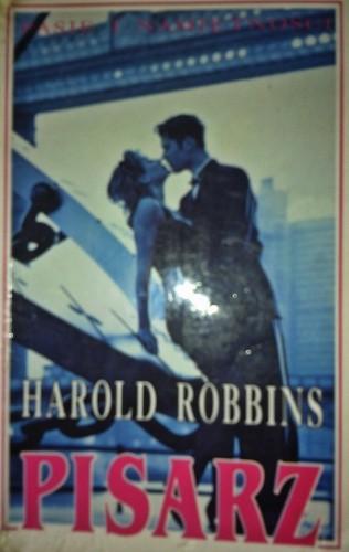 Okładka książki Pisarz Harold Robbins