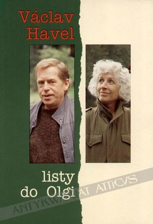 Okładka książki Listy do Olgi Václav Havel