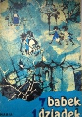Okładka książki 7 babek, 1 dziadek Maria Pruszkowska