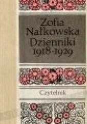 Okładka książki Dzienniki 1918-1929 Zofia Nałkowska