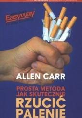 Okładka książki Prosta metoda jak skutecznie rzucić palenie Allen Carr