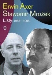 Okładka książki Listy 1965-1996 Sławomir Mrożek,Erwin Axer