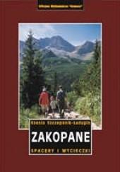 Okładka książki Zakopane. Spacery i wycieczki Przewodnik turystyczny