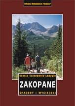 Okładka książki Zakopane. Spacery i wycieczki Przewodnik turystyczny Ksenia Szczepanik-Ładygin