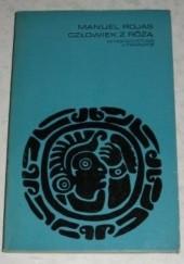 Okładka książki Człowiek z różą Manuel Rojas