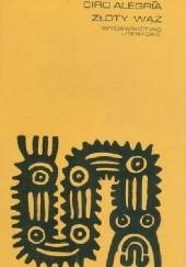Okładka książki Złoty wąż Ciro Alegria