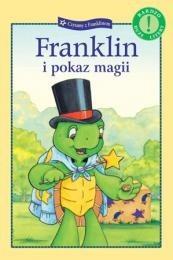 Okładka książki Franklin i pokaz magii Sharon Jennings