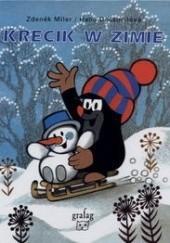 Okładka książki Krecik w zimie Zdeněk Miler