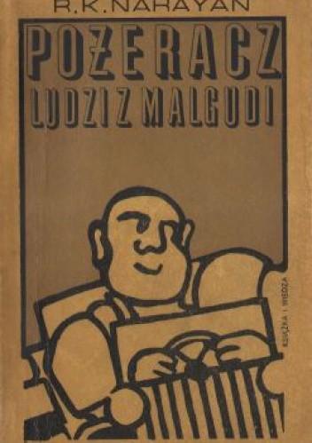 Okładka książki Pożeracz ludzi z Malgudi R. K. Narayan