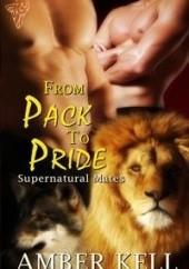 Okładka książki From Pack to Pride Amber Kell