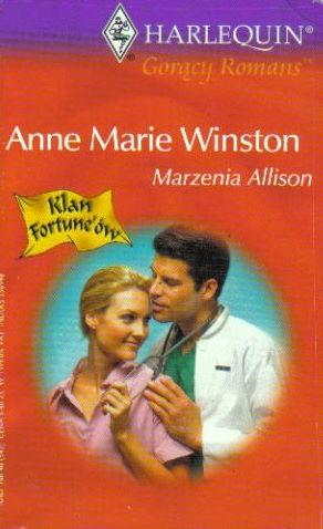 Okładka książki Marzenia Allison Anne Marie Winston