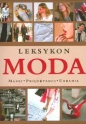 Okładka książki Moda. Leksykon Sylvia Jonas