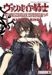 Okładka książki Vampire Knight tom 8 Hino Matsuri