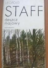Okładka książki Deszcz majowy