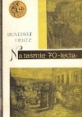 Okładka książki Na taśmie 70-lecia Benedykt Hertz