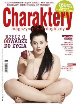 Okładka książki Charaktery 6 (173) / czerwiec 2011 Redakcja miesięcznika Charaktery