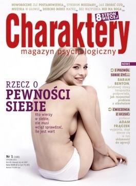 Okładka książki Charaktery 1 (168) / styczeń 2011 Redakcja miesięcznika Charaktery